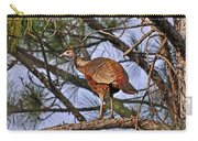 Turkey In A Tree Carry-all Pouch by Al Powell Photography USA