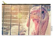 Turkey In The Cage Carry-all Pouch
