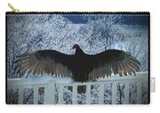 Turkey Vulture Sunning Carry-all Pouch