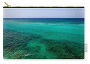 Turks Turquoise Carry-all Pouch by Chad Dutson
