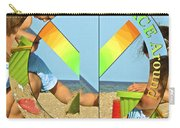 Turn Peace Around 2 Carry-all Pouch by Charlie and Norma Brock