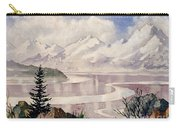Turnagain Tidal Patterns Carry-all Pouch