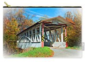 Turner's Covered Bridge Vignette Carry-all Pouch