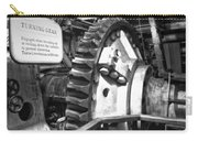 Turning Gear Engine Room Queen Mary Bw Carry-all Pouch