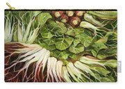 Turnip And Chard Concerto Carry-all Pouch by Jen Norton
