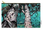 Turquois Trees  Carry-all Pouch