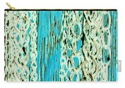 Turquoise Chained Carry-all Pouch