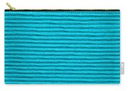 Turquoise Cloth Carry-all Pouch
