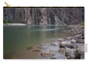 Turquoise Colorado River Carry-all Pouch