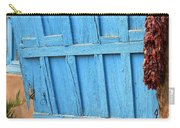 Turquoise Door Carry-all Pouch