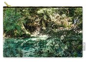 Turquoise Forest Pond On A Summer Day No1 Carry-all Pouch