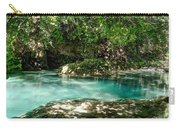 Turquoise Forest Pond On A Summer Day No3 Carry-all Pouch