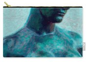 Turquoise Maiden - Digital Art Carry-all Pouch