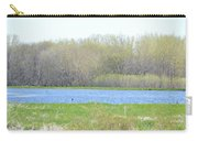 Turquoise Marsh Carry-all Pouch