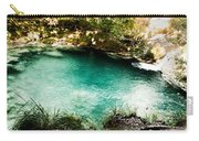 Turquoise River Waterfall And Pond Carry-all Pouch