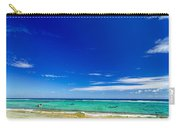 Turquoise Sea And Blue Sky Carry-all Pouch
