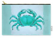 Turquoise Seashells I Carry-all Pouch by Lourry Legarde