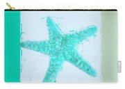 Turquoise Seashells Ix Carry-all Pouch by Lourry Legarde