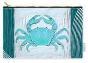 Turquoise Seashells Xix Carry-all Pouch