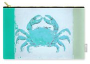 Turquoise Seashells Xv Carry-all Pouch
