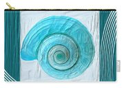 Turquoise Seashells Xvii Carry-all Pouch