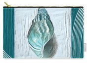 Turquoise Seashells Xx Carry-all Pouch by Lourry Legarde