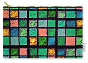 Turquoise Sudoku Carry-all Pouch
