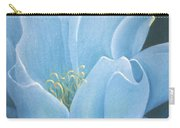 Turquoise Waterlily Carry-all Pouch