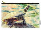Turtle Brave Carry-all Pouch