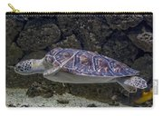 Sea Turtle Houston Zoo Aquarium Carry-all Pouch