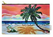 Turtle On Beach Carry-all Pouch