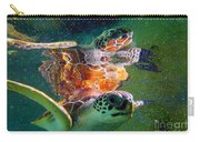 Turtle Reflection Carry-all Pouch