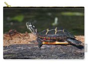 Turtle Sun Bathing Carry-all Pouch