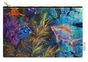 Turtle Wall 3 Carry-all Pouch by Ashley Kujan