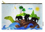 Turtles All The Way Down Carry-all Pouch by Anastasiya Malakhova