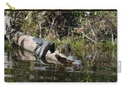 Turtles And Gator Carry-all Pouch