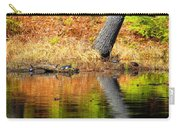 Turtles At The Edge Carry-all Pouch