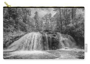Turtletown Creek In Black And White Carry-all Pouch
