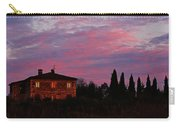 Tuscan Farmhouse And Morning Glow Carry-all Pouch
