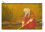 Tuscan Farmhouse At Sunset Carry-all Pouch