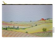 Tuscan Hillside Three Carry-all Pouch