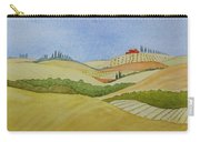 Tuscan Hillside Two Carry-all Pouch by Mary Ellen Mueller Legault
