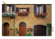 Tuscan Homes Carry-all Pouch by Inge Johnsson