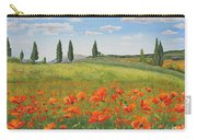 Tuscan Poppies-b Carry-all Pouch