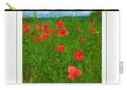 Tuscan Poppies Poster Carry-all Pouch