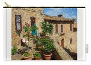 Tuscan Terrace Poster Carry-all Pouch