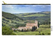 Tuscany - Abbazia Di Sant'antimo Carry-all Pouch