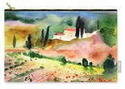 Tuscany Landscape 02 Carry-all Pouch