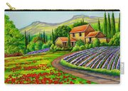 Tuscany Lavender  Carry-all Pouch