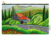 Tuscany Poppies Carry-all Pouch